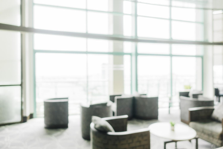 Abstract blur restaurant interior for background